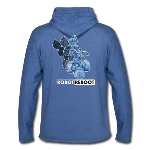 ROBOT REBOOT - Leichtes Kapuzensweatshirt Unisex