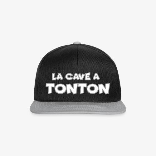Casquette Cave a Tonton - Casquette snapback