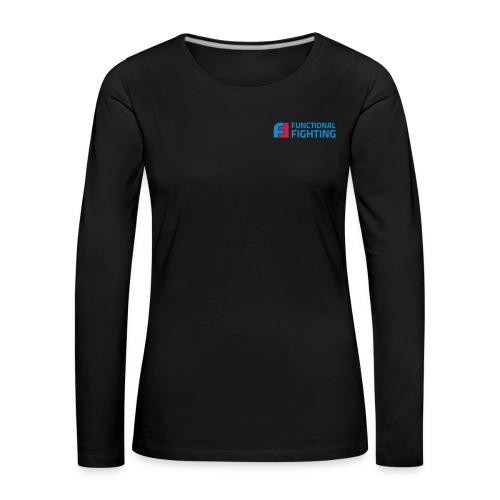 Functional Fighting Coach Langarm Shirt Frauen - Frauen Premium Langarmshirt