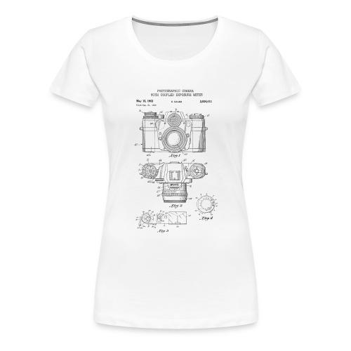 Fotografie Retro - Frauen Premium T-Shirt