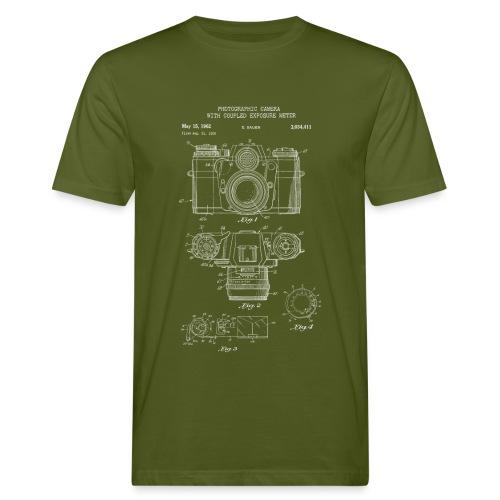 Fotografie Retro - Männer Bio-T-Shirt