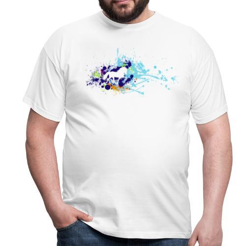 Isi Klecks - Shirt Männer - Männer T-Shirt