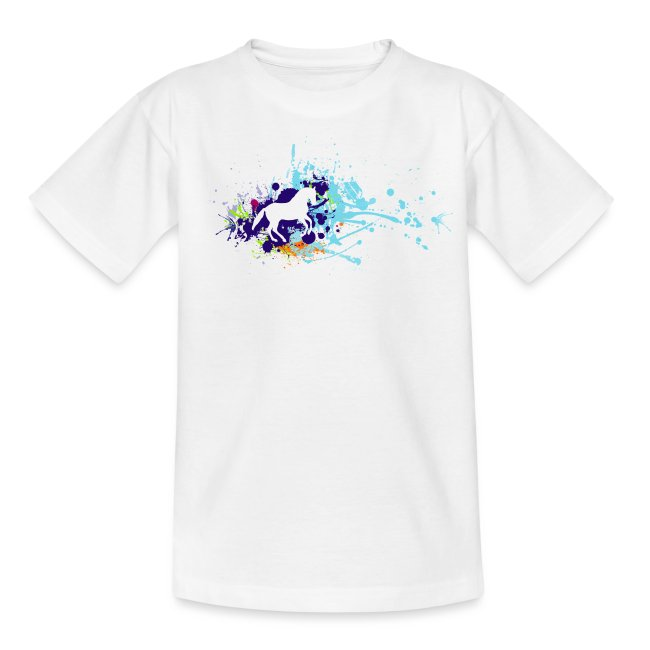 Galopp Klecks - Shirt Teenies
