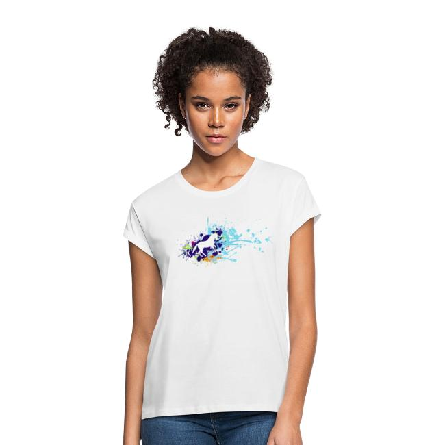 Galopp Klecks - Shirt weit