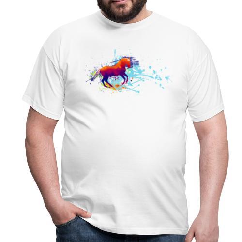 Galopp bunt - Shirt Männer - Männer T-Shirt