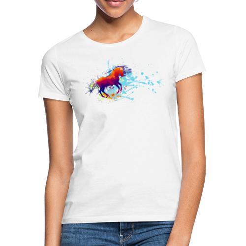 Galopp bunt - Shirt - Frauen T-Shirt