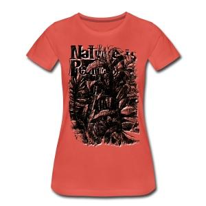 nature is peace - Women's Premium T-Shirt