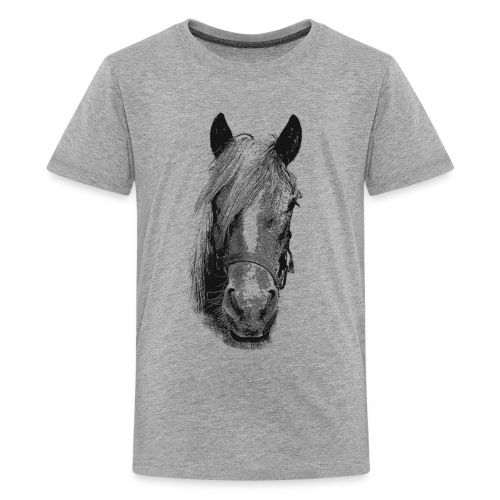 Haflinger  - Teenager Premium T-Shirt