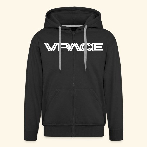 VPACE black Hoodie - Männer Premium Kapuzenjacke