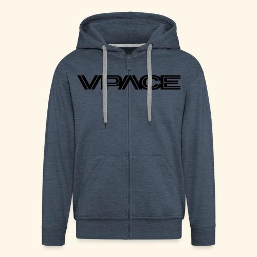 VPACE white Hoodie - Männer Premium Kapuzenjacke