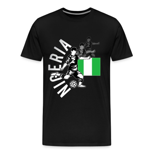Nigeria Football Shirt 2018 - For Super Eagles Soccer Supporters - Männer Premium T-Shirt
