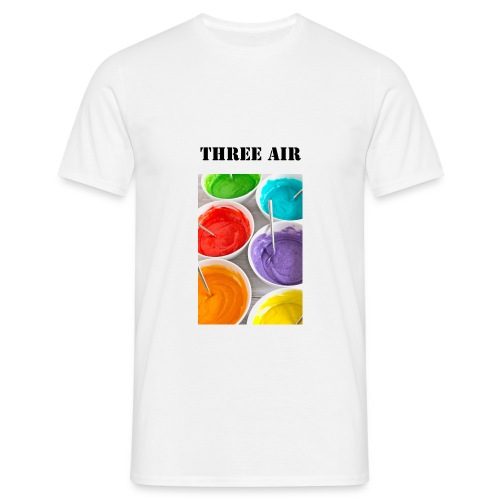 three air colors - T-shirt Homme