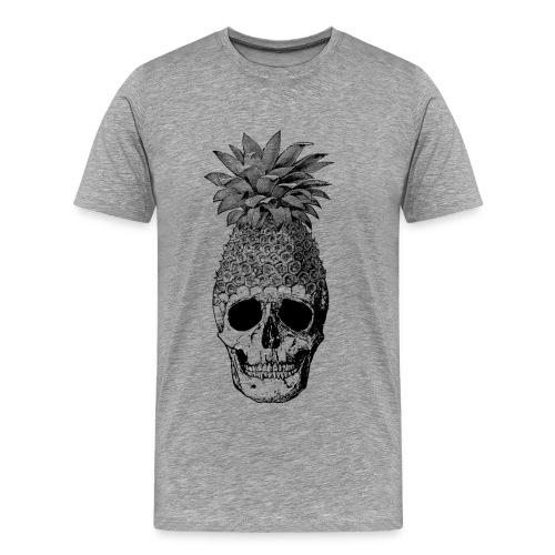 Pineapplehead (Black&White) - Men's Premium T-Shirt