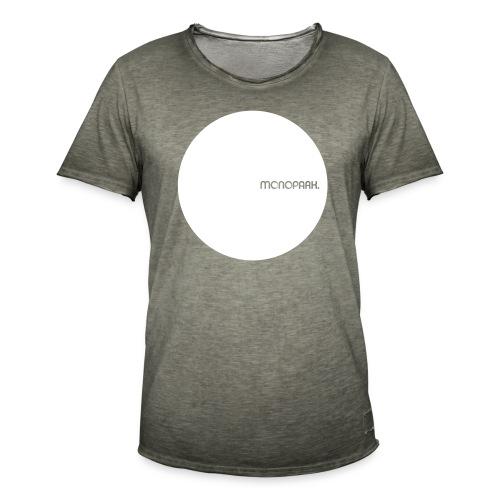 MoPa Vintage Dot Khaki - Männer Vintage T-Shirt