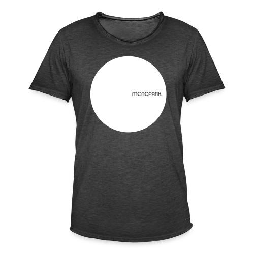 MoPa Vintage Dot Black - Männer Vintage T-Shirt
