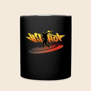 Hip Hop Tasse schwarz 2 - Tasse einfarbig