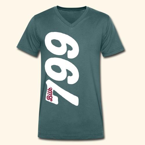 Herren Bio-T-Shirt 799 Bilk - Männer Bio-T-Shirt mit V-Ausschnitt von Stanley & Stella