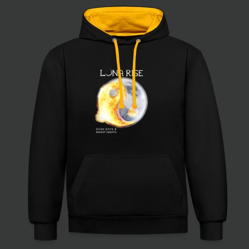 Luna Rise - Dark Days & Bright Nights - Variant 1 - Kontrast-Hoodie