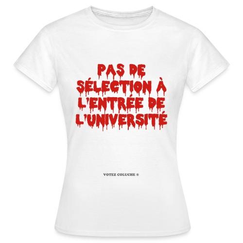 Etudiants tous égaux - T-shirt Femme