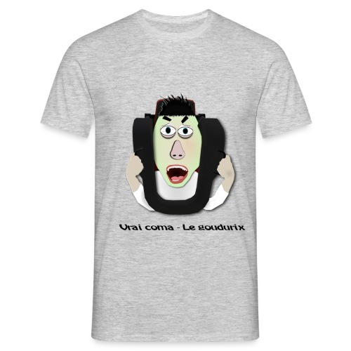 Vrai coma - Le Goudurix - Tshirt homme - T-shirt Homme
