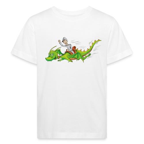 Drachenreiter - Kinder Bio-T-Shirt - Kinder Bio-T-Shirt