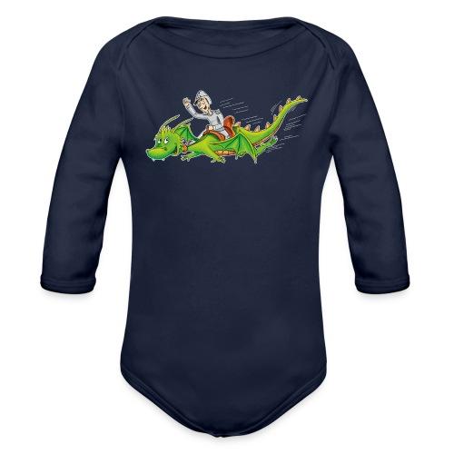 Drachenreiter - Baby Bio-Langarm-Body - Baby Bio-Langarm-Body