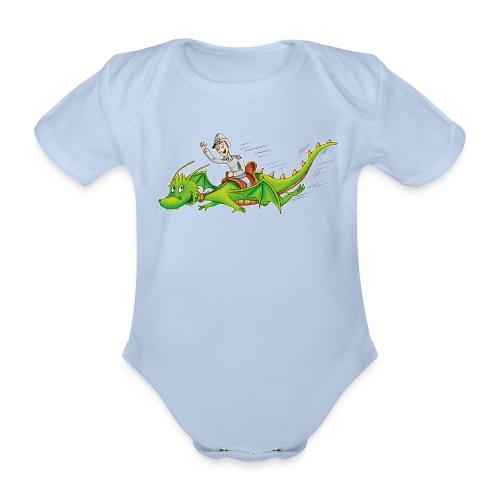 Drachenreiter - Baby Bio-Kurzarm-Body - Baby Bio-Kurzarm-Body