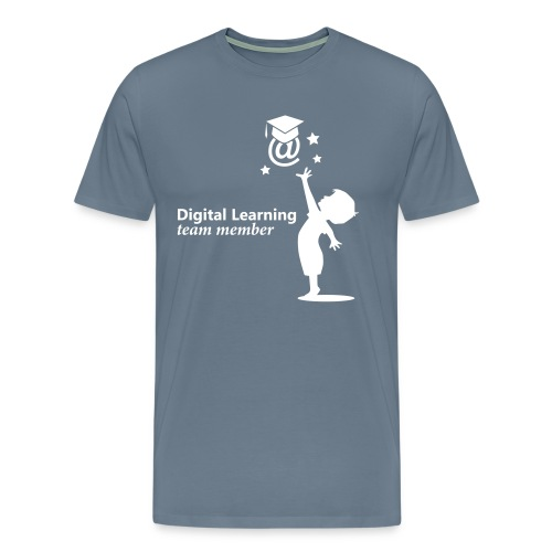 Digital Learning - eLearning - Männer Premium T-Shirt