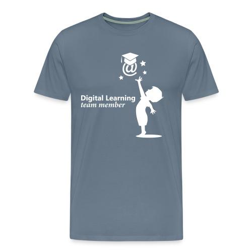 Digital Learning - eLearning - Männer Premium T-Shirt