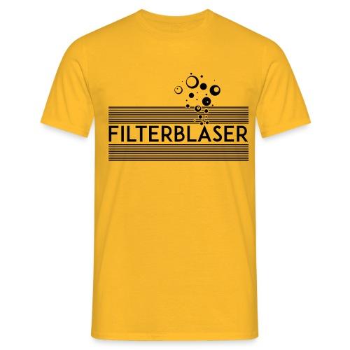 Filterbläser - Männer T-Shirt