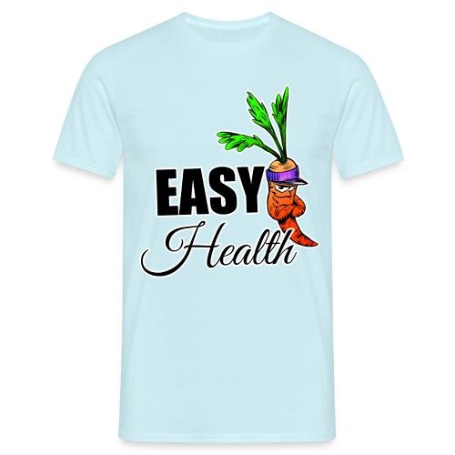 Easy Health Cartoon - Männer T-Shirt