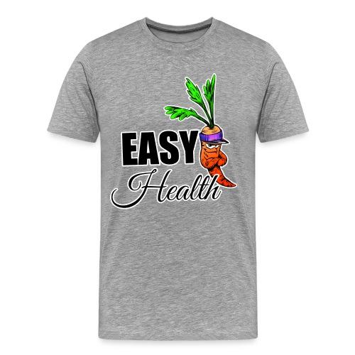 Easy Health Cartoon - Männer Premium T-Shirt