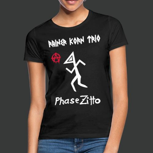 Rainer Korn Trio - Phase Zitto (Anarcho Triangle Head)  - Frauen T-Shirt