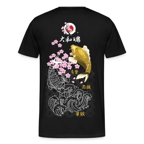 Yamato Tamashii Koi - Maglietta Premium da uomo