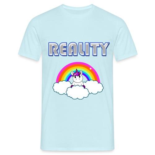 Rainbow & Unicorn Reality - Men's T-Shirt