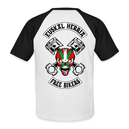 Basques Free Bikers - T-shirt baseball manches courtes Homme