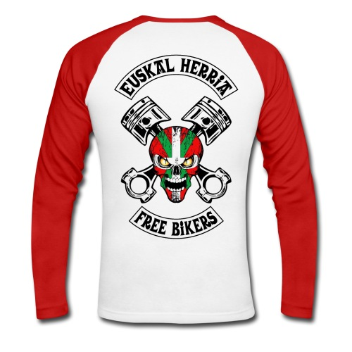 Basques Free Bikers - T-shirt baseball manches longues Homme