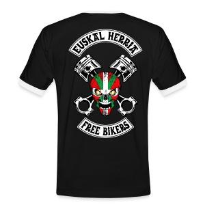 Basques Free Bikers - T-shirt contrasté Homme