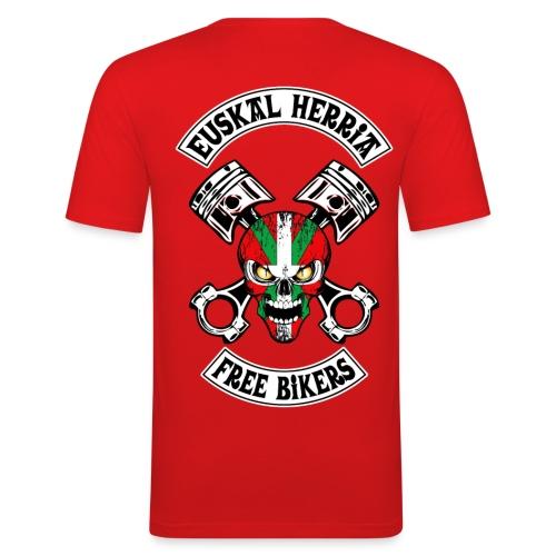 Basques Free Bikers - T-shirt près du corps Homme