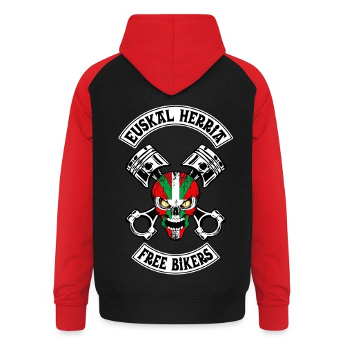 Basques Free Bikers - Sweat-shirt baseball unisexe