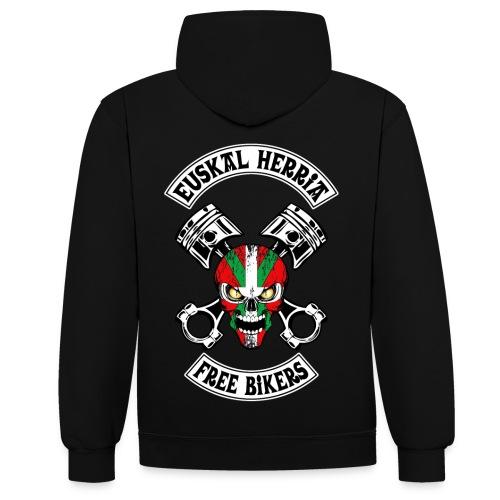 Basques Free Bikers - Sweat-shirt contraste