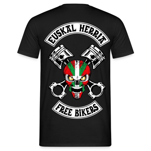 Basques Free Bikers - T-shirt Homme