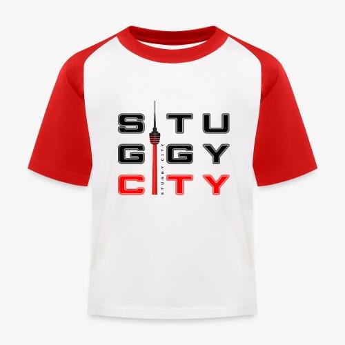 Stuggy City Kiddy - Kinder Baseball T-Shirt