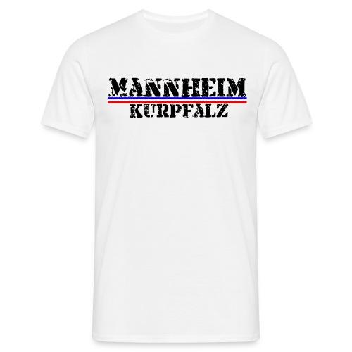 Mannheim-Kurpfalz - Männer T-Shirt