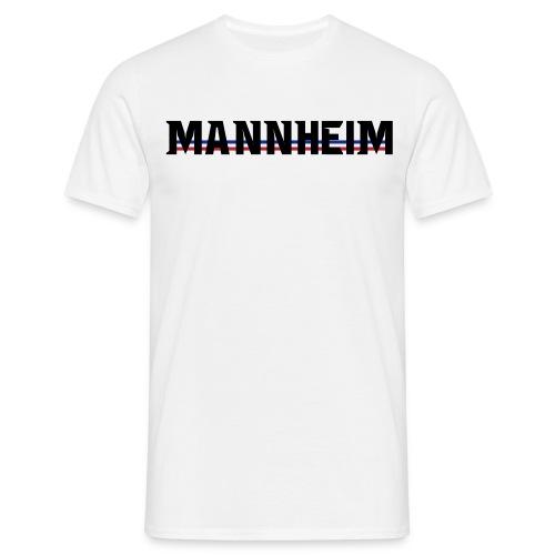 Mannheim-blau-weiss-rot - Männer T-Shirt