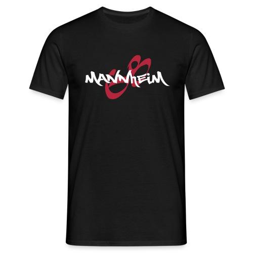 Mannheim-Graffiti - Männer T-Shirt