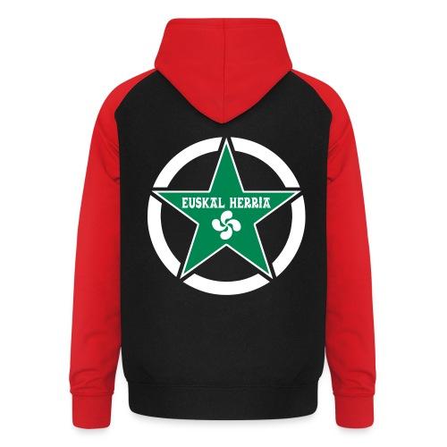 Euskal Herria Star - Sweat-shirt baseball unisexe