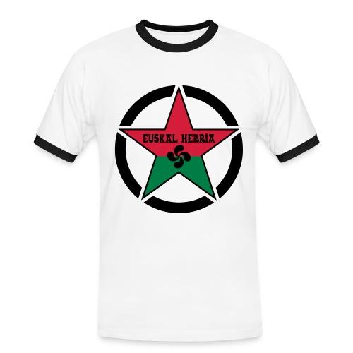 Euskal Herria Star - T-shirt contrasté Homme