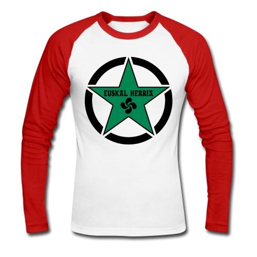 Euskal Herria Star - T-shirt baseball manches longues Homme