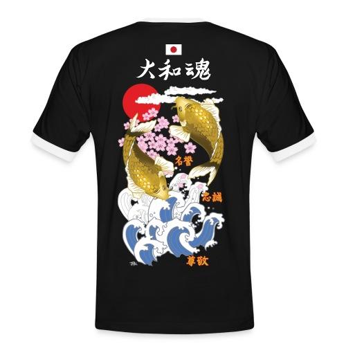 Yamato Tamashii 2Koi - Maglietta Contrast da uomo